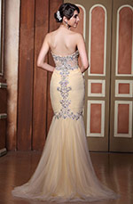 Mermaid Delicate Beadings Sweetheart Neckline Evening Dress (C36144214)