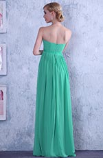 Graceful Strapless A-line Evening Dress Bridesmaid Dress (C36144404)