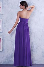 Elegant Strapless A-line Evening Dress Bridesmaid Dress (C36144406)