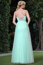New A-Line Sweetheart Ruched Beaded Evening Dress Ball Gown (C36145732)