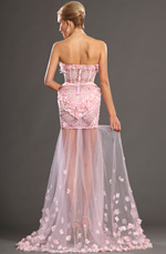 eDressit 2013 S/S Fashion Show Strapless Evening Dress Prom Gown (F00130601)