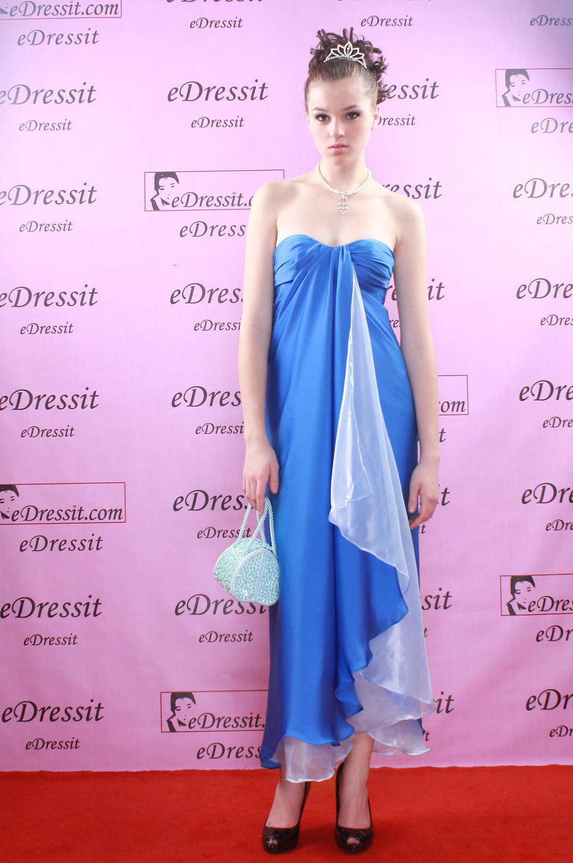 Bonito Vestido Azul Boda Imágenes - Colección de Vestidos de Boda ...