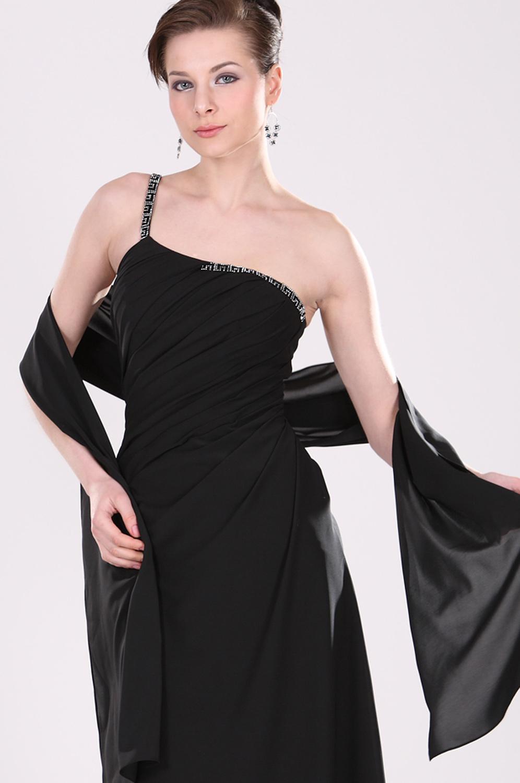 edressit ein schulter pr chtig elegant schwarz kleid f r mutter 26100600. Black Bedroom Furniture Sets. Home Design Ideas