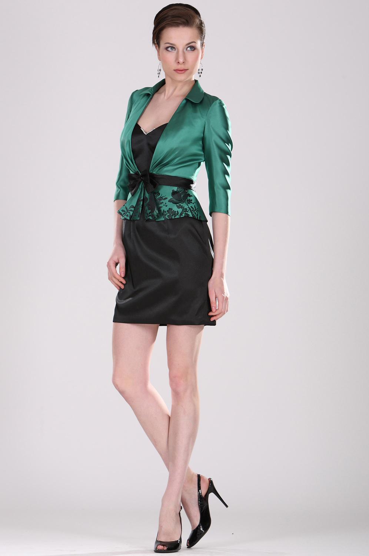 Jacke zu grunem kleid