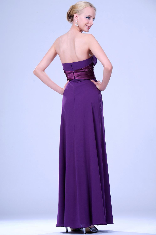 edressit violet bustier longue tenue de soir e 00109306. Black Bedroom Furniture Sets. Home Design Ideas