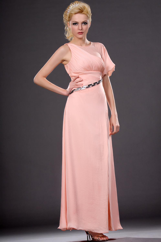 eDressit Popular estilo Rosado Vestido de noche con Mangas (00111501)