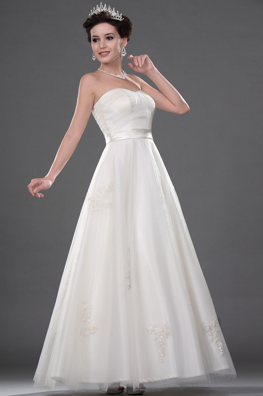 edressit elegante sweetheart robe de mariee 01111007. Black Bedroom Furniture Sets. Home Design Ideas