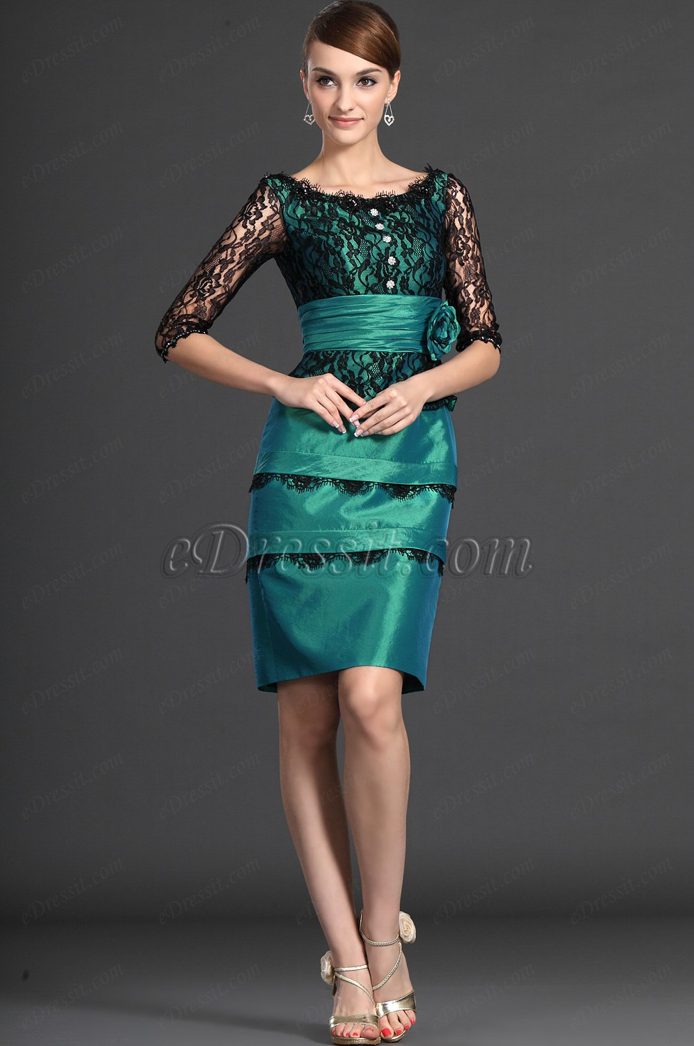 Attractive Lace Mother Of The Bride Dresses Sketch - All Wedding ...