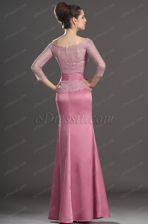 eDressit Maravilloso Hombro Caido Vestido de Madrina Vestido de ...