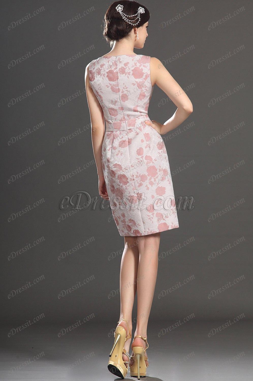 Vestidos de fiesta cortos estampados con escote corazon quotes - El armario de la tele vestidos de fiesta ...