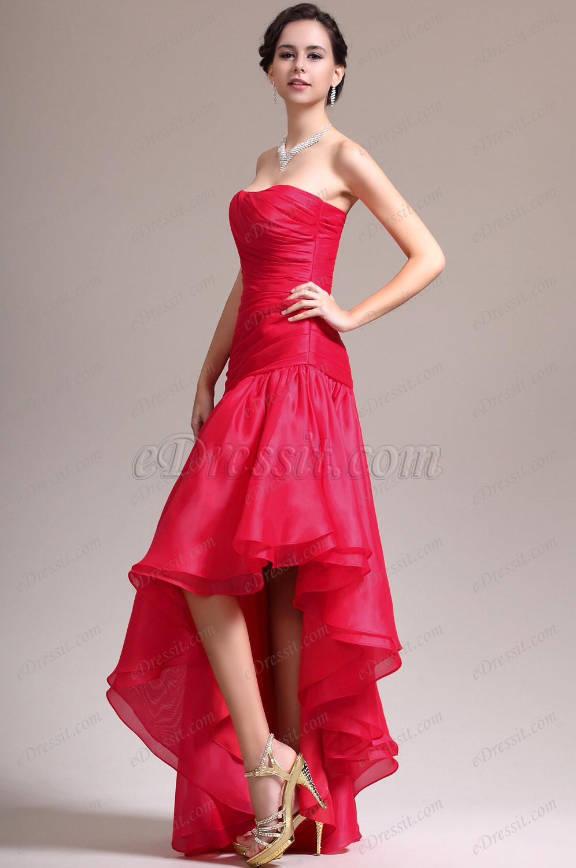 Макияж под длинное красное платье
