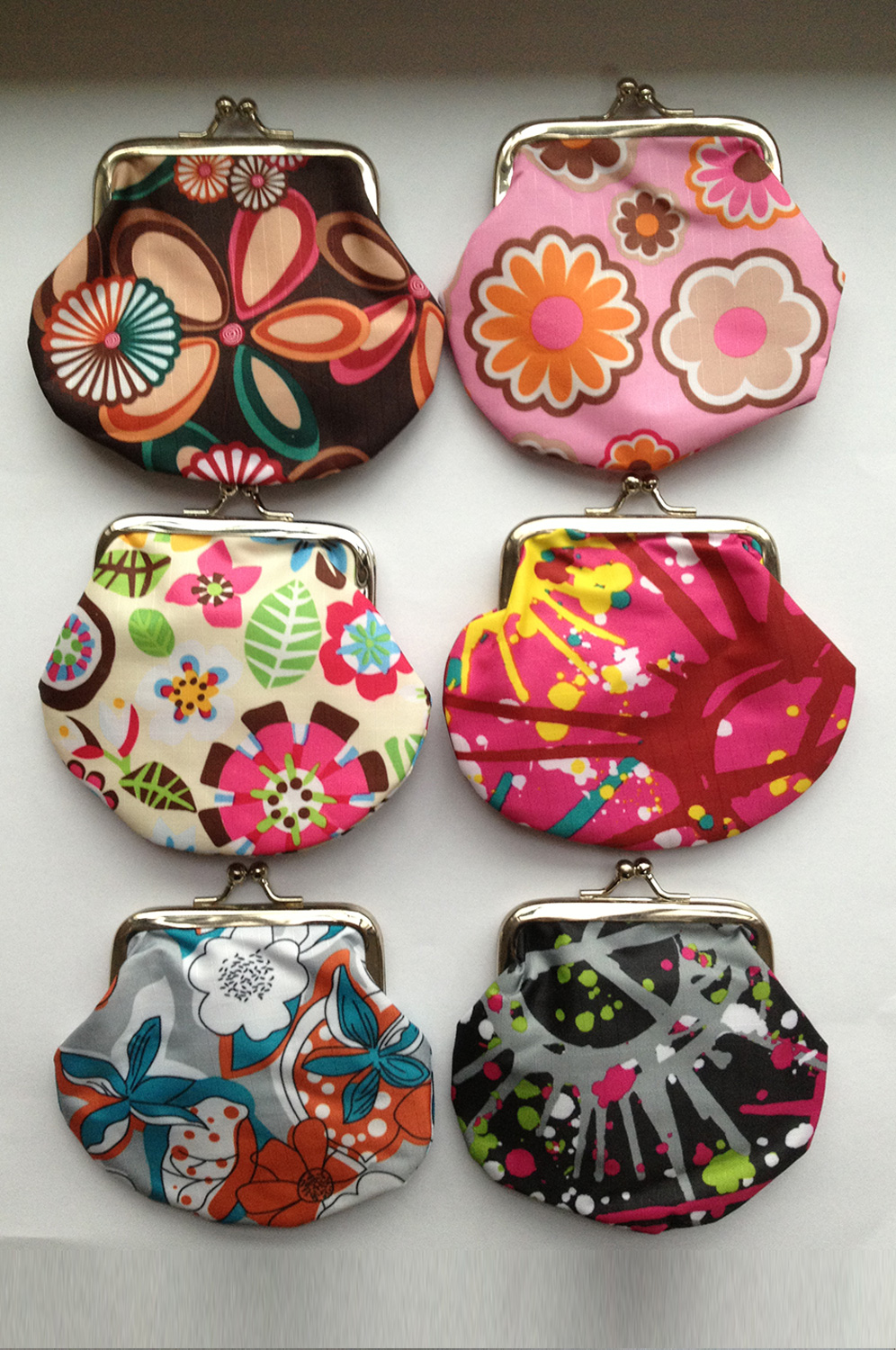 Snap Closure Printed Pattern Coin Purse 66140568