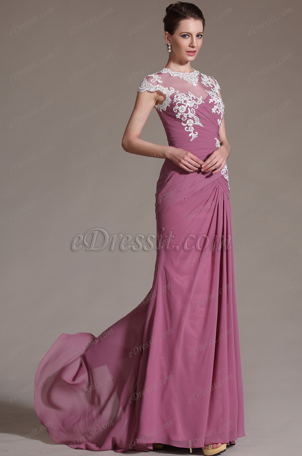 2014 New Sleeveless Lace Long Mother of the Bride Dress 26146946 Mother Of The Mother Of The Bride Dresses With Scarf