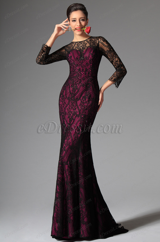 фото осенние вечерние платья
