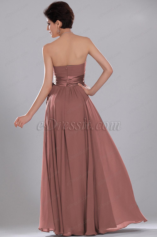 Edressit Simple Elegant Strapless Evening Dress Only One