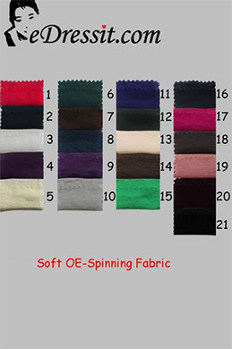 eDressit Samt OE-Spinning Farbemuster (61100101A)