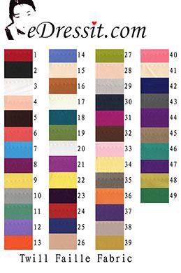 eDressit Twill Faille Fabric (60110102A)