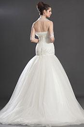 eDressit Artikel Wunderbar Trägerlos Hochzeit Kleid (01130607)