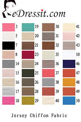 eDressit Jersey Chiffon Fabric (60130105)