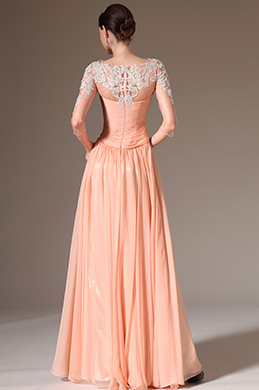 eDressit 2014 New Embroidered Lace Top & Sleeves Gown(26145710)