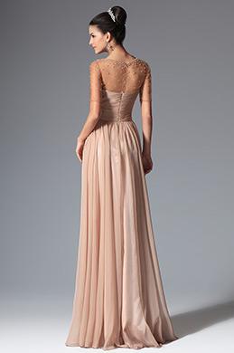 eDressit 2014 New Round Neckline Short Sleeves Evening Dress (02147846)