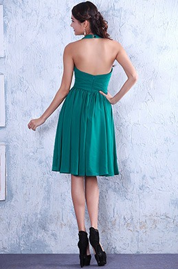 Halter Neck Sexy Open Back Party Dress Cocktail Dress (04124704)