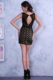Hot Little Black Sleeveless Cocktail Dress Party Dress Day Dress (C36143200)