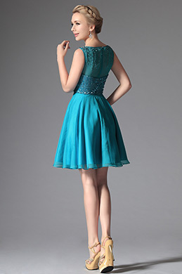 Shiny Sleeveless Sequined Cocktail Dress Party Dress (04144805)