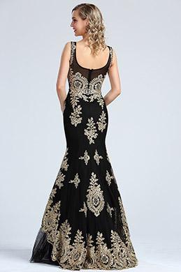 Belle robe de soiree noire