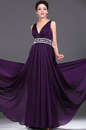 eDressit New Elegant V-cut Beaded Evening Dress (00115906)