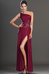 eDressit New Arrival Gorgeous Burgundy High Slit Evening Dress (00130717)