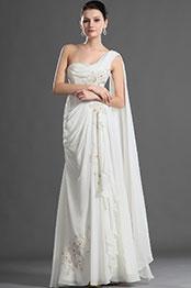 eDressit Charming One Shoulder Pleated Evening Dress (01121307)
