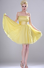 eDressit New Cute Yellow Party Dress (04112303)