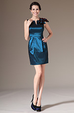 eDressit 2014 New Hand-made Flowers Fitted Mother of the Bride Dress (26143405)