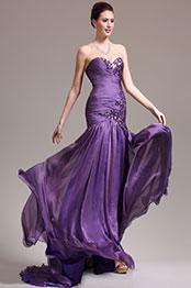 eDressit  Nouveautés Elégante Bustier Violette Robe de Soirée Robe de Bal (02133906)