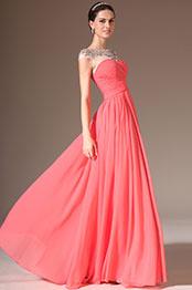 eDressit 2014 New Sheer Top Round Neck Full-Length Prom Dress(02143757)