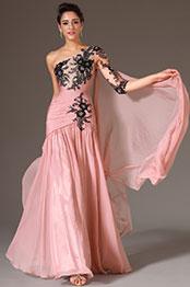 eDressit 2014 Nouveauté Rose Une Epaule&Manche Unique Robe de Soirée(02145146)