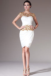 eDressit 2014 New Golden Lace Top Sheath Knee-Length Formal Dress (04141514)