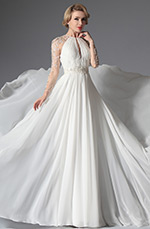 eDressit 2014 New Romantic Sleeves Wedding Gown (01141507)