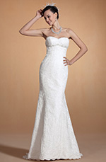 Carlyna 2014 Neu Stilvoll Süß Herz Perlen Mermaid Hochzeitakleid (C37143207)