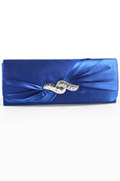 Shining Blue Handbag /Purse (08110405)