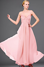 eDressit strapless pink evening dress (00105701)