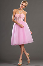 eDressit 2013 S/S Fashion Show Strapless Pink Cocktail Dress Party Dress (F04130301)