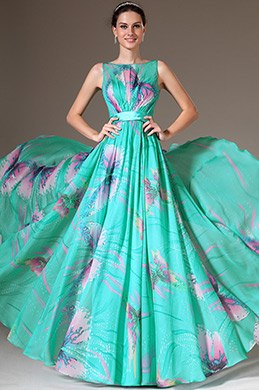 eDressit Printed Sleeveless A-Line Evening Dress (00143068)