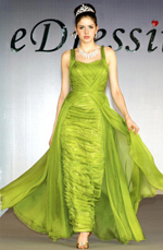 eDressit Stylish Jennifer Lopez Green Evening Party Dress (00098204)