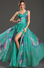 eDressit New Gorgeous Printed One Shoulder Evening Dress (00129868)