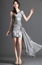 eDressit Stylish One Shoulder Short Dress Party Dress (04120708)