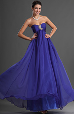 eDressit Sweety Heart Blue Evening Dress (00128805)
