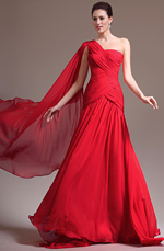 eDressit  Nouveauté Adorable Une Seule Bretelle Rouge Robe de Soirée (02133302)