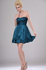 eDressit New Adoral Ruched Strapless Party Dress (04112005)